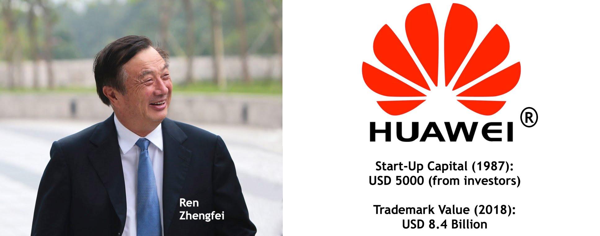 Ren Zhengfei Huawei Trademark Value