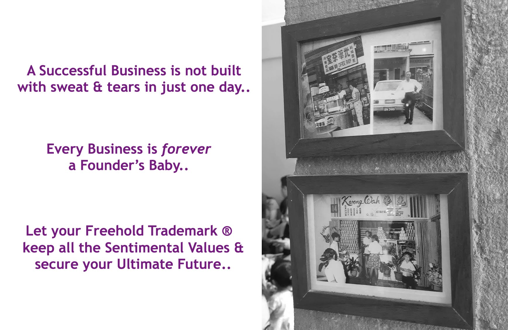 Trademark is a freehold asset