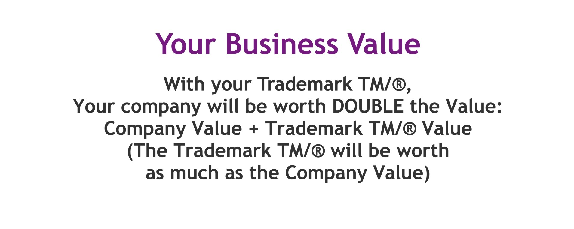 Trademark Value