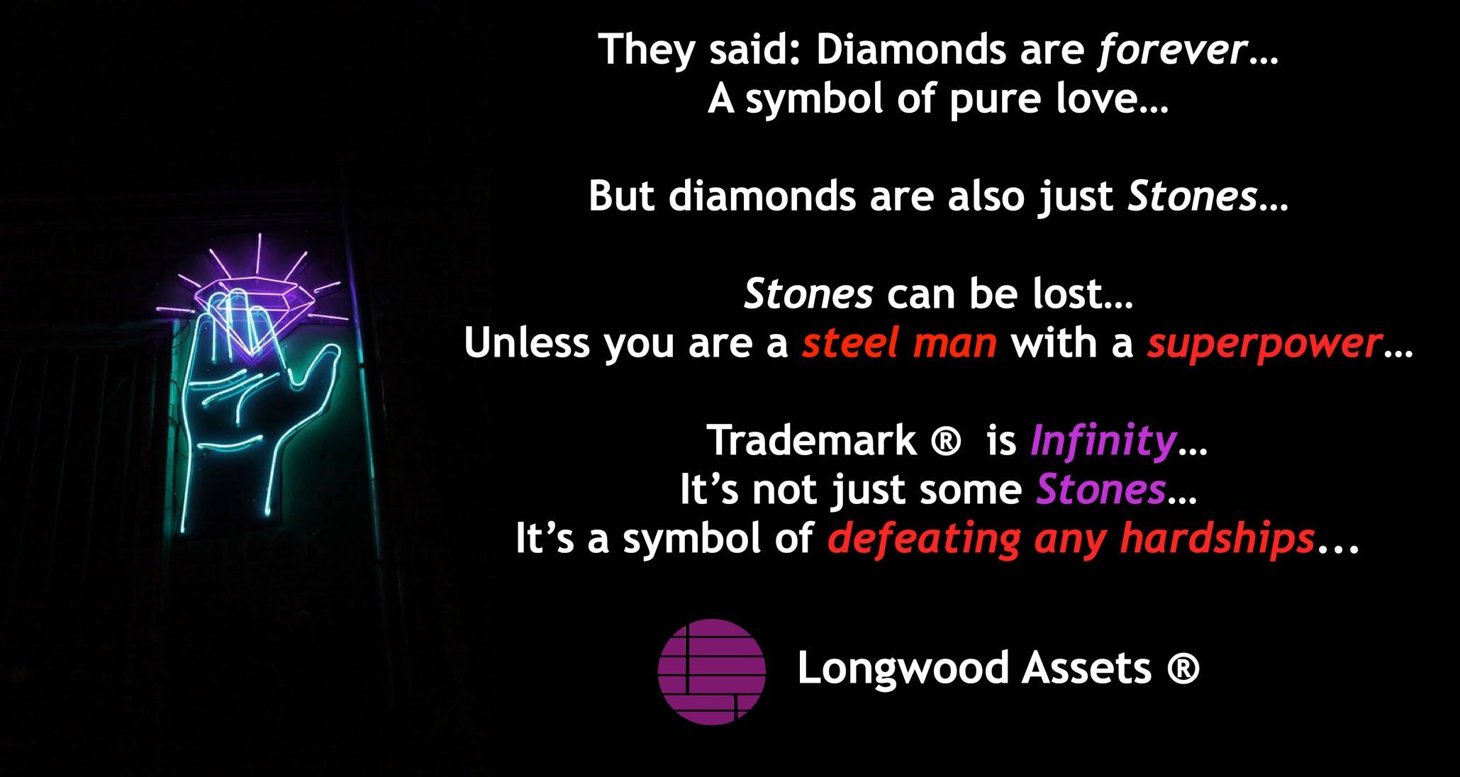 Trademark Infinity Stones